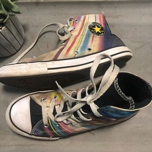 Converse all star chuck Taylor multi color sz 7.5